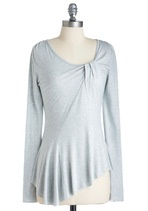 Love the color: Cute Tops, Gray Tops, Gray Shirts, Heather Gray, Mmmm Modcloth, Darker Color, Solids Color, Cool Shirts, Lighting Gray