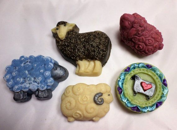 Sheep Lovers Soap Gift Set