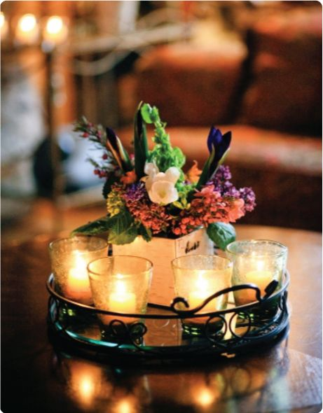 1000 Images About Tray Centerpieces On Pinterest Copper