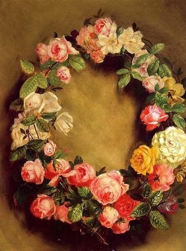 Crown Of Roses Pierre Auguste Renoir