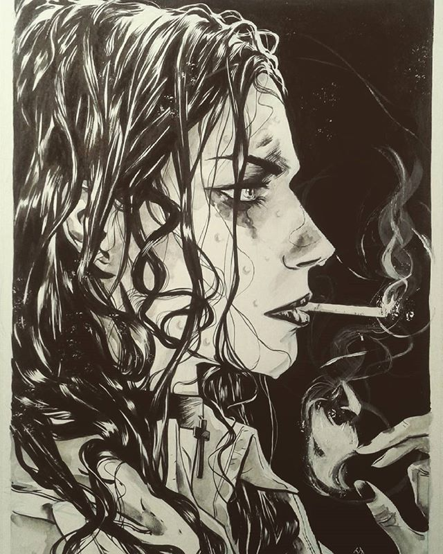 Liz Sherman commission #hellboy #lizsherman #bprd #darkhorse