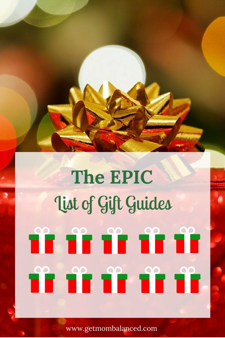 This epic list of gift guides will help you find gifts for the whole family. Learn about great gifts for boys, girls, kids, teens, and interests like STEM, music and more.
