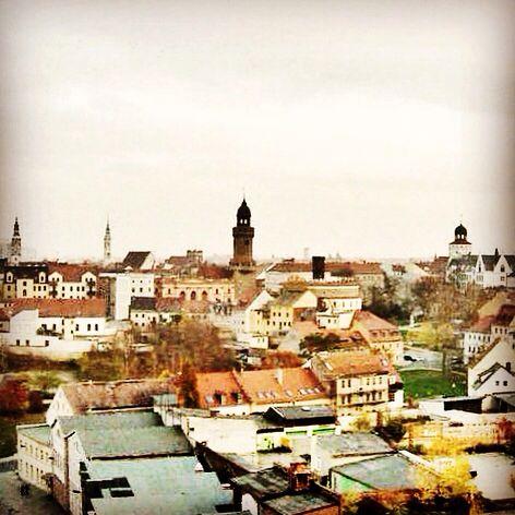 Görlitz Silhouette mit Kaisertrutz und Reichenbacher Turm   Via Regia Stadt