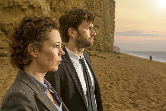 """Broadchurch,"" the phenomenon from the UK starring David Tennant, makes its debut stateside with a thrilling new trailer."