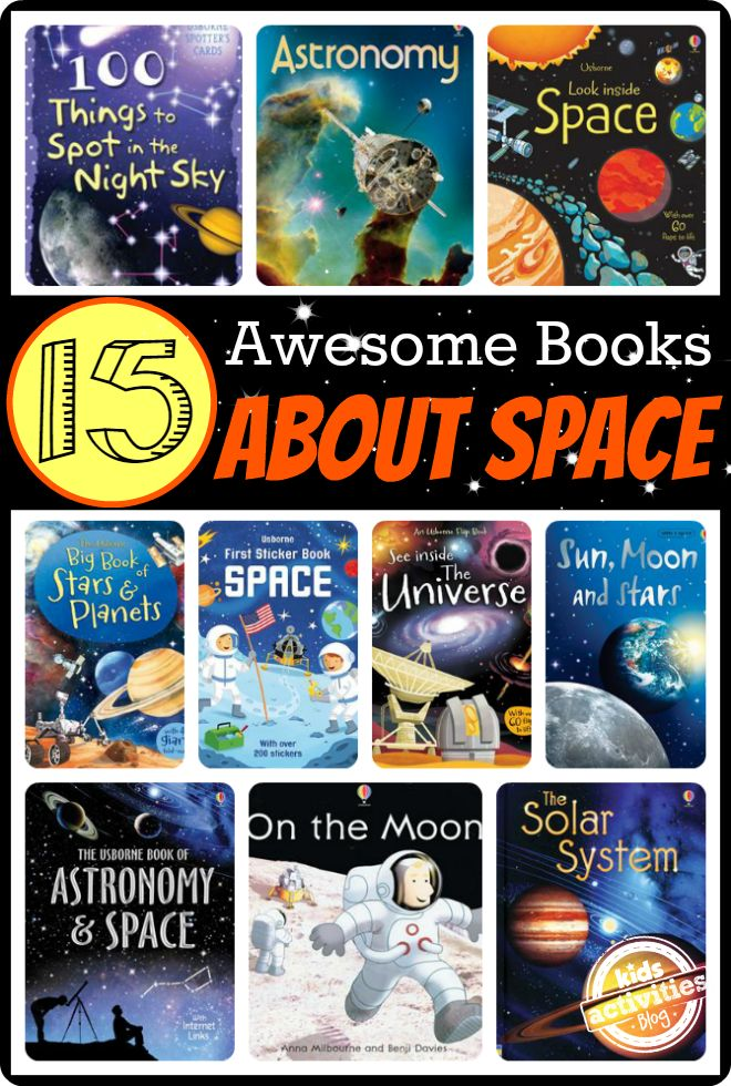 These space books for kids aren't just packed with facts, but offer unique experiences children will treasure for years to come.