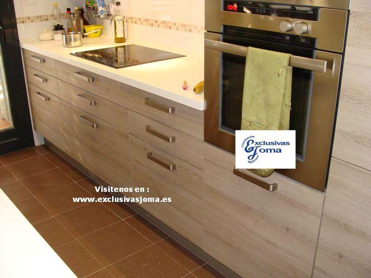 126 best images about reformas de cocinas 3 0 en pinterest - Muebles de madera de roble ...