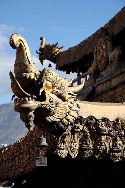 Lhasa, Jokhang Temple.