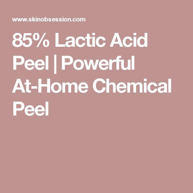 85% Lactic Acid Peel | Powerful At-Home Chemical Peel