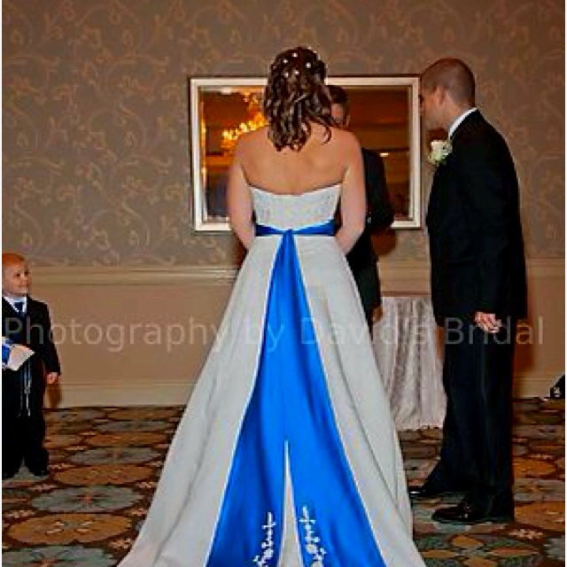 Horizon blue wedding