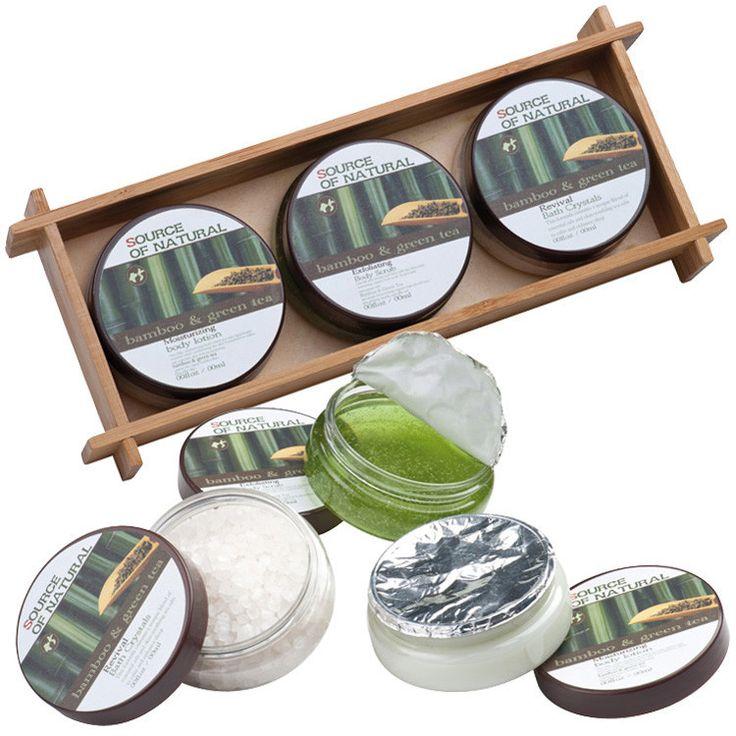 Bambusz dobozos fürdőszett | Napideal
