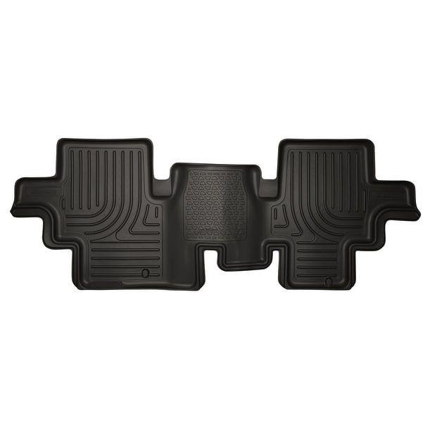 Husky Weatherbeater 2013-2015 Nissan Pathfinder 2nd Row Black Rear Floor Mats/Liners
