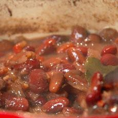 New Orleans-Style Red Beans Recipe  use andui sausage and serve on top of  white rice    ellie hamm