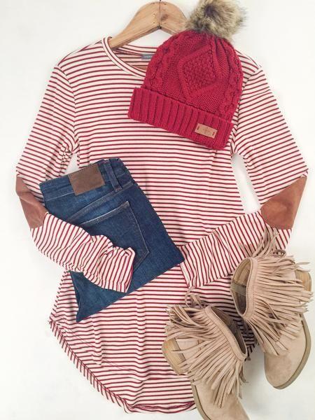 Long Sleeve Stripe Top