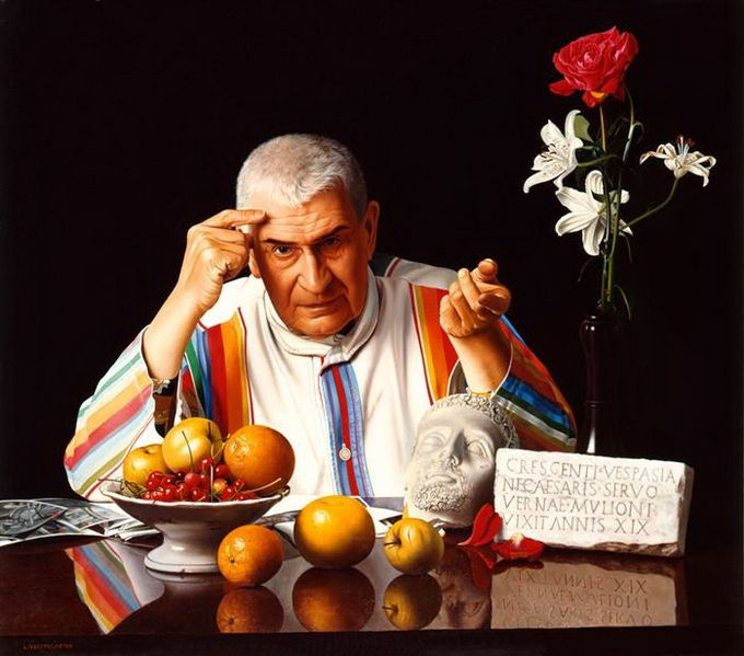 Luciano Ventrone 1942 | pintor hiperrealista italiano