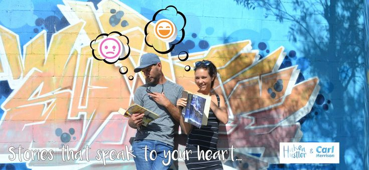 """""""Stories that speak to your heart"""" Authors Carl Merrison and Hakea Hustler explore the street art in Northern Rivers"""
