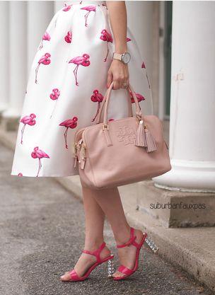 Darling flamingo skirt