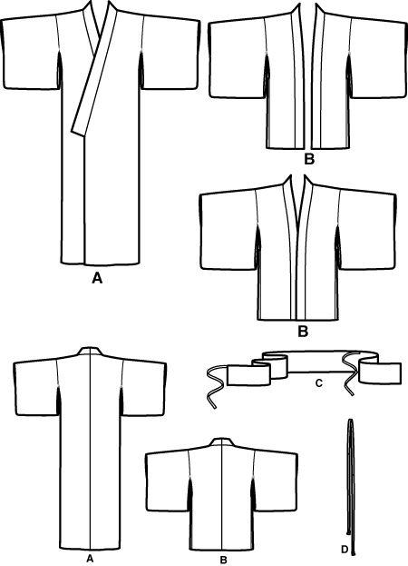 Simplicity 5839- Kimono