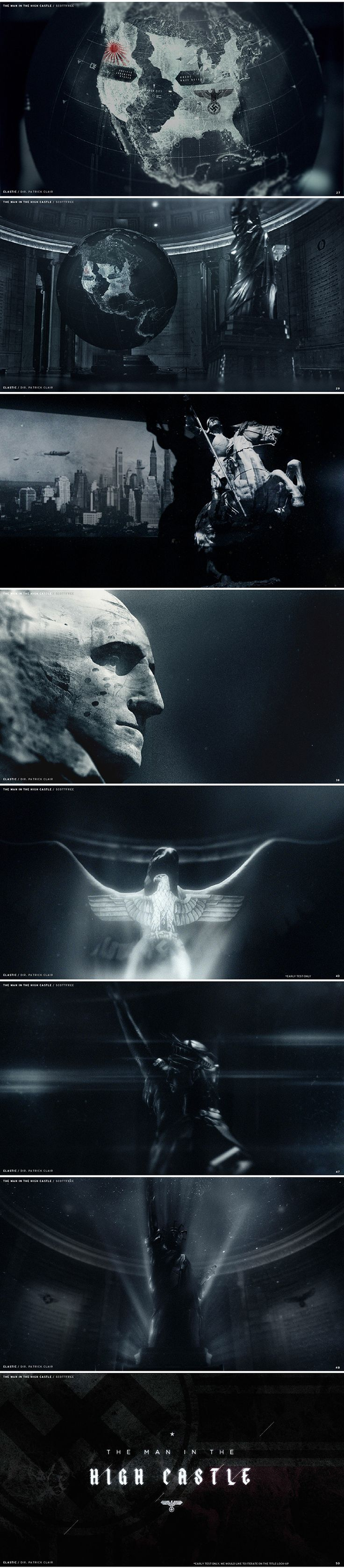 """""""The Man in the High Castle"""" (2015) - Title Sequence by Elastic"""