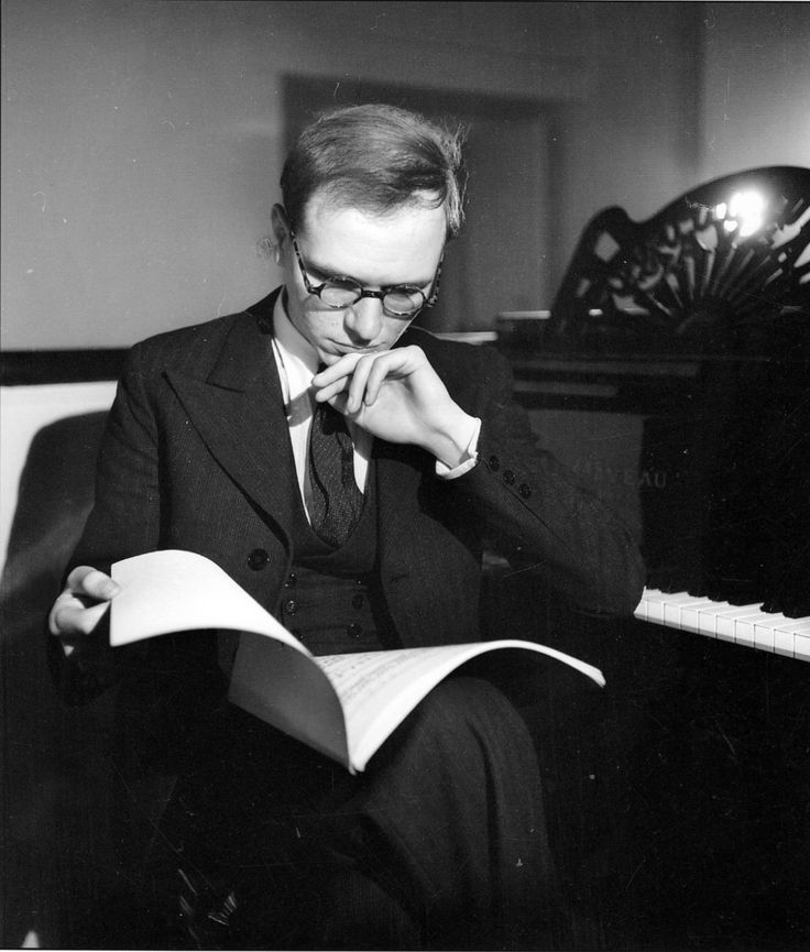 | Olivier Messiaen in 1930.