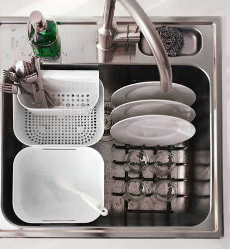 BOHOLMEN Washing and rinsing basket. IKEA Catalog 2015