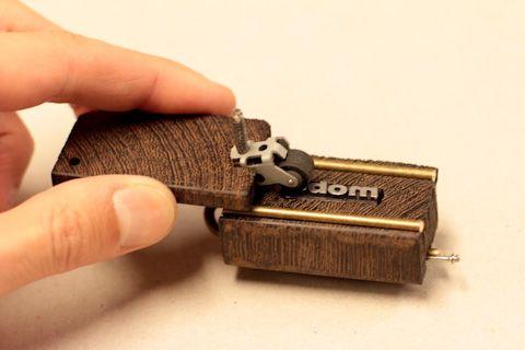 Portable, pocket-sized letterpress!