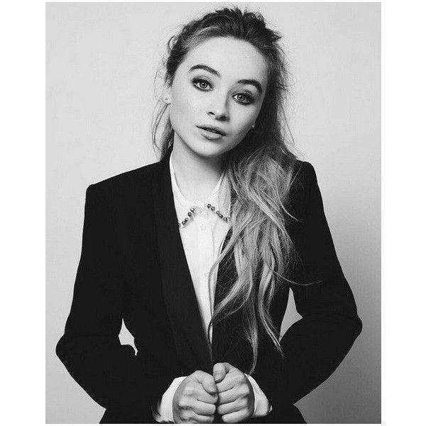 Sabrina Carpenter ❤ liked on Polyvore featuring people
