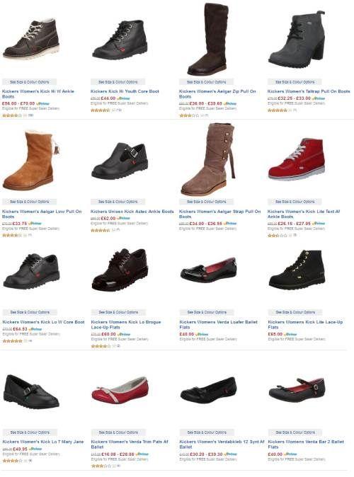 Jual Sepatu Kickers Wanita Murah Terbaru