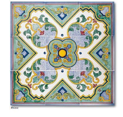 Maiano   Vietri Ceramic Group   Rosoni