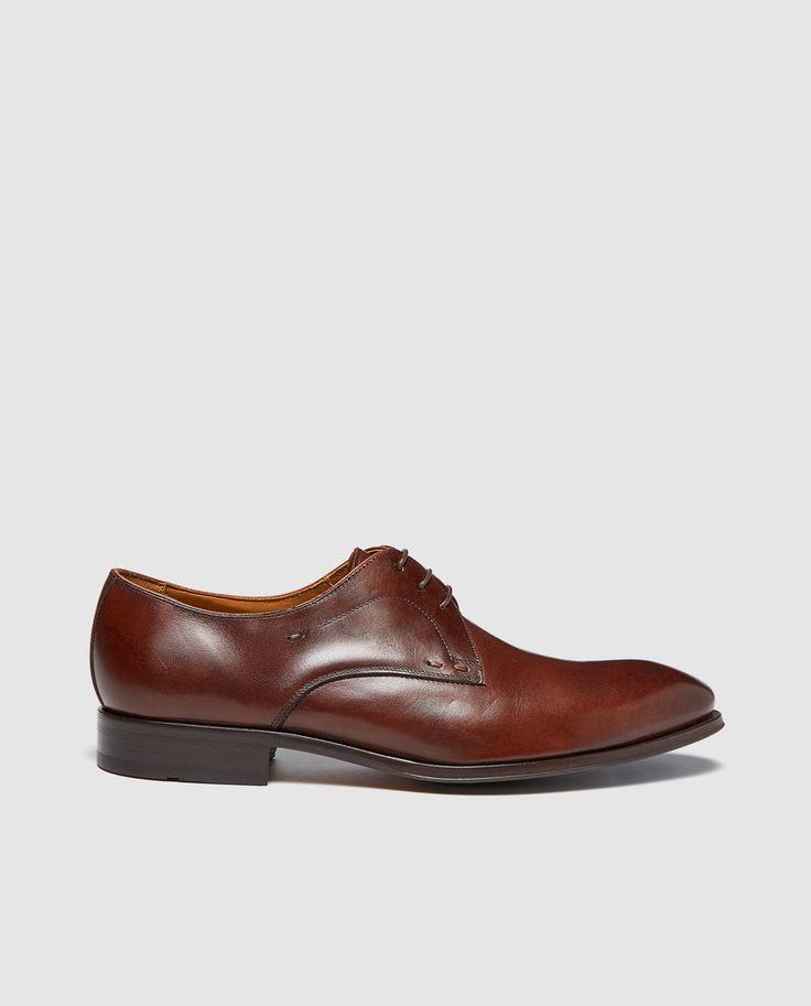 Zapatos de vestir de hombre Andrea Chenier de piel en color marrón · Andrea Chenier · Moda · El Corte Inglés