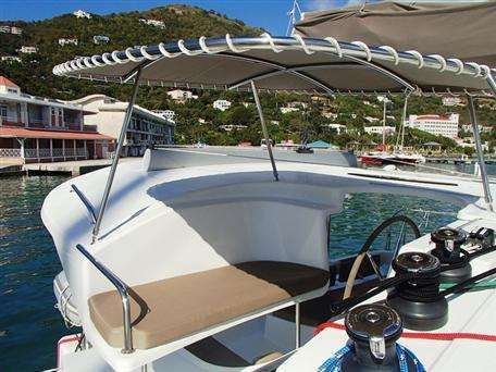 Lipari 41 used sailing catamaran for sale in the Caribbean
