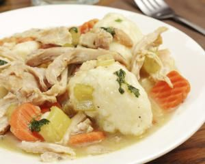 chicken and dumplings - William Mahar E+/Getty Images