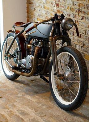 Cafè Racer, this is a work of art! | caferacerpasion.com.  By Untitled Motorcycles London
