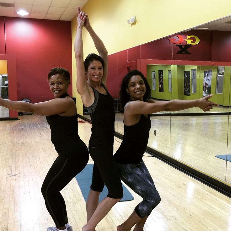 Teaching Les Mills new release 67 of Body Flow with these lovely ladies!