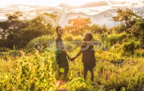 写真集「SURI COLLECTION」からヨシダナギ(いろは出版)提供 #写真集 #エチオピア