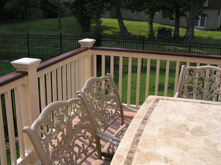 54 Best Fairway Railing Columns And Fence Images On