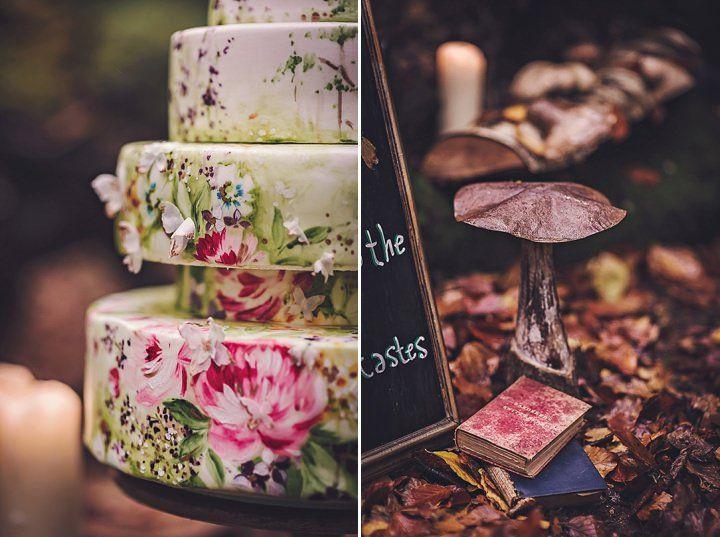 Bohemian wedding ideas - wedding cake and decoration details #rusticweddinginspiration