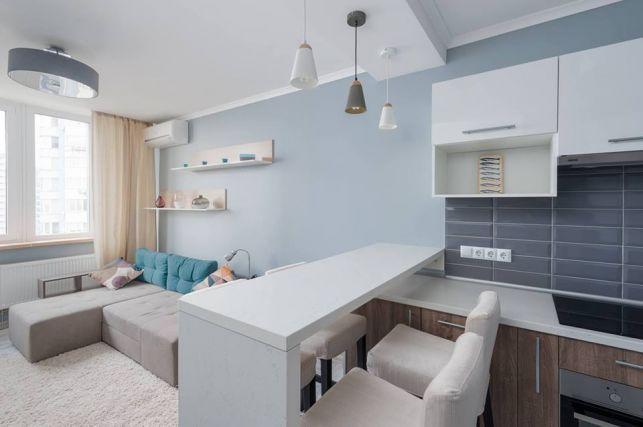 Amenajare pentru un cuplu tanar intr-un apartament de 50 mp- Inspiratie in amenajarea casei - www.povesteacasei.ro