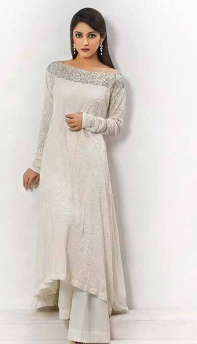 simple dress. Pret Wear Collection 2013 By Umar Batul Pinned by Zartashia