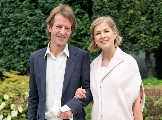 Rosamund Pike Welcomes Another Baby Boy, Her Second Child With Robie Uniacke  Rosamund Pike, Robie Uniacke