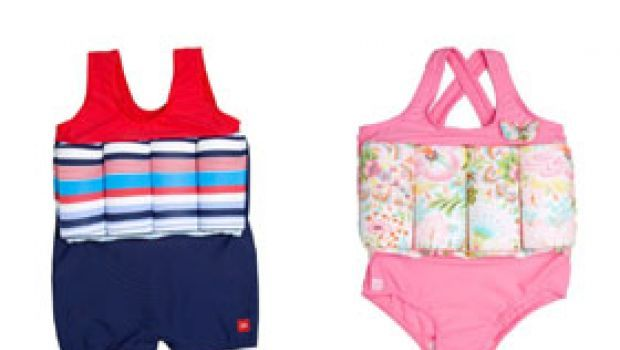 Costumi da bagno per bambini con salvagente incorporato
