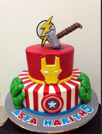 Avengers Birthday Cake Design : 1000+ ideas about Avengers Birthday Cakes on Pinterest ...