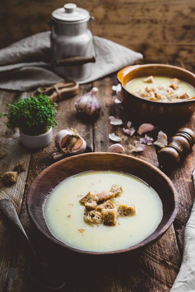 Rýchla cesnaková polievka - cesnačka