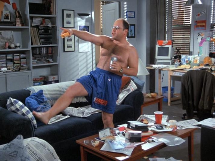 It s time for George to start being George again. 24 best Hello Newman  images on Pinterest   Seinfeld  College