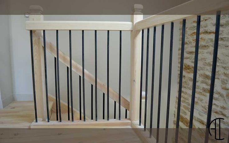 best 25 balustrade bois ideas on pinterest balustrade escalier garde corps mezzanine bois. Black Bedroom Furniture Sets. Home Design Ideas
