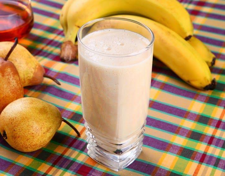 Cantinho Vegetariano: Vitamina de Banana e Pera (vegana)