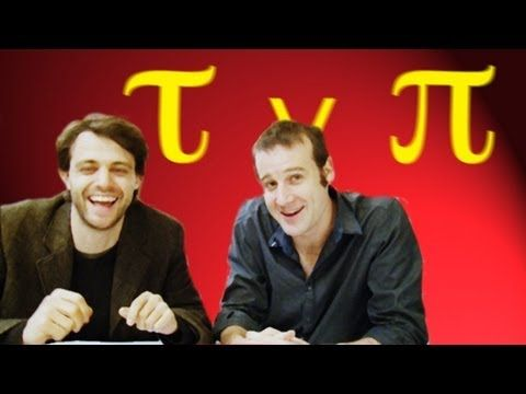 Tau vs Pi Smackdown - Numberphile - YouTube. Check out the Numberphile channel for other fun math videos.
