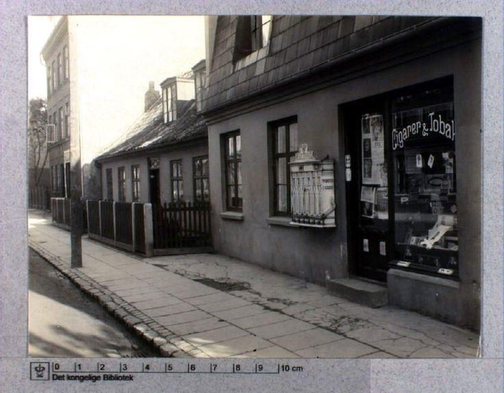 Tingvej 17. Foto Det kongelige Bibliotek.