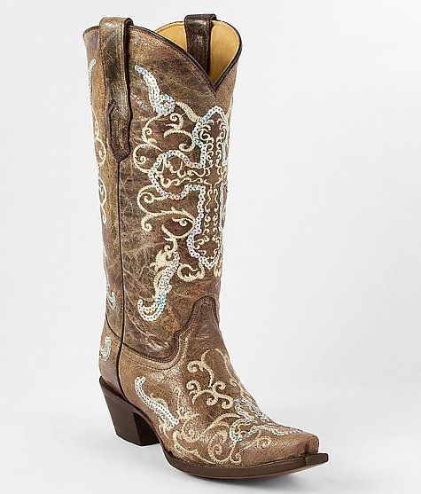 Corral Sequin Cowboy Boot from Buckle..i wish corral boots weren't so expensive!