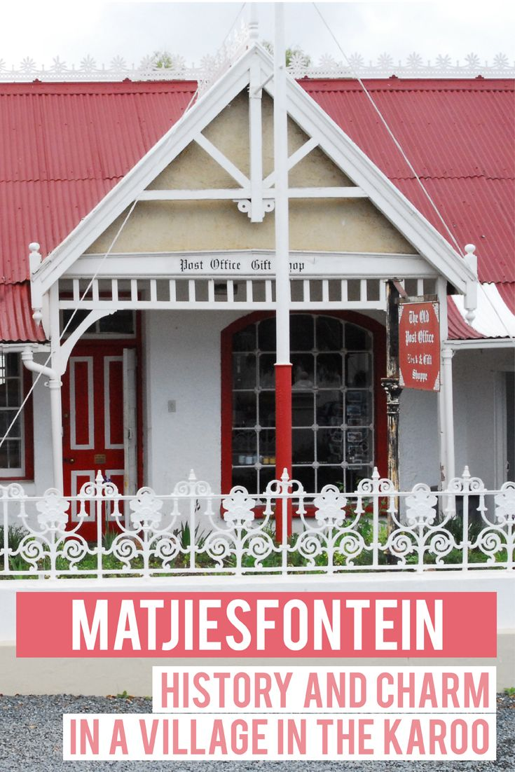 Matjiesfontein: what to do in this charming historical village