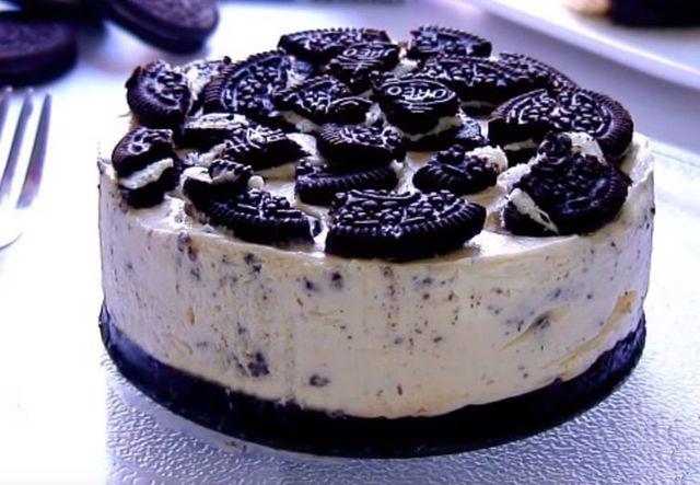 Opskrift: Cheesecake med Oreo   Magasinetliv.dk